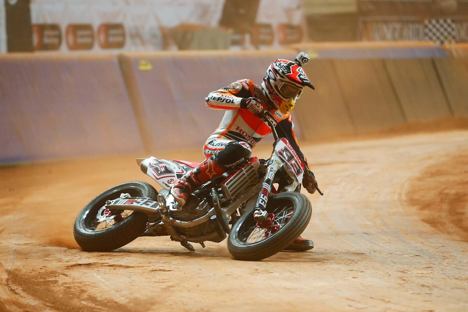 Marc Marquez Flat Track Racing