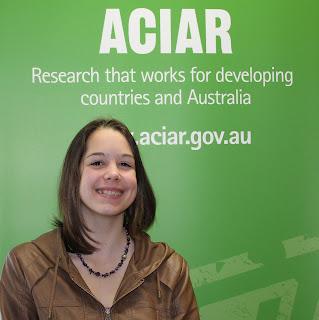 Alex Henderson, ACIAR Work Experience Student