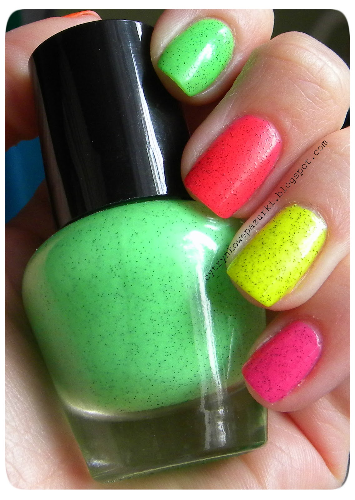 Neonowe marmurki Lemax
