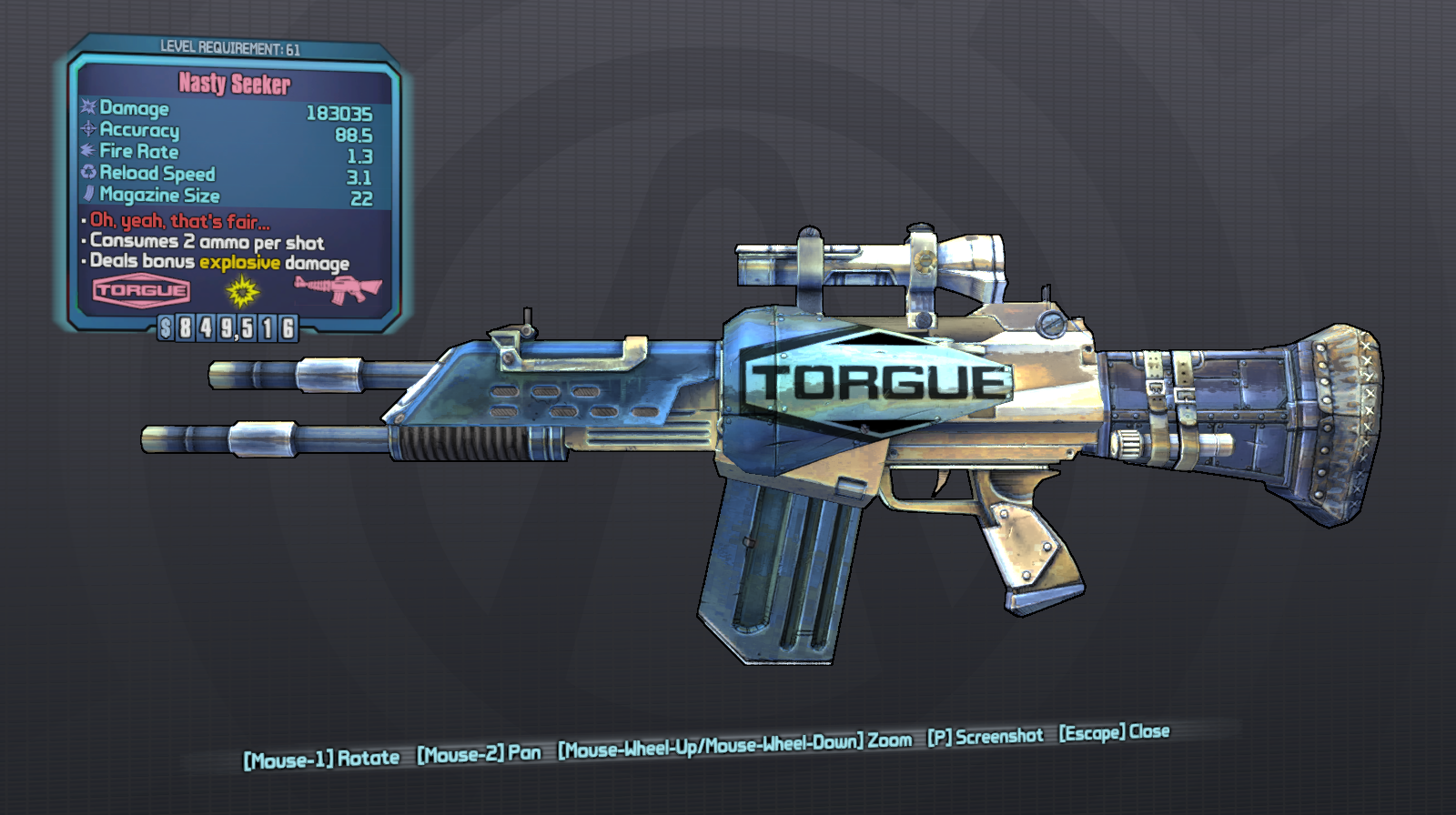 Weapon slot 4 borderlands 2