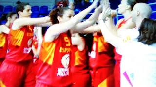Selección Española Femenina de Baloncesto.