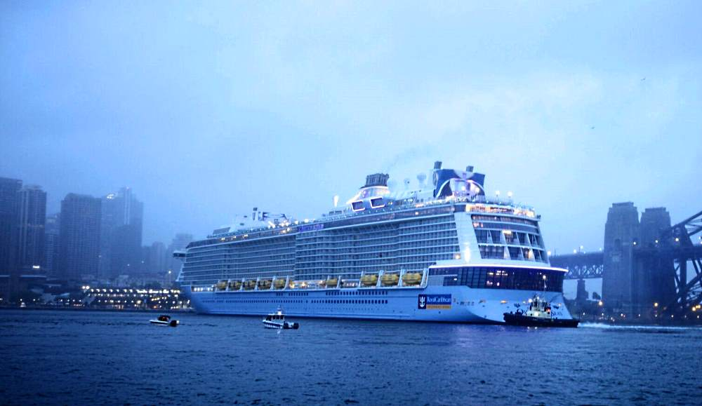 World39s Fourth Largest Ship Makes Sydney Homeport Debut