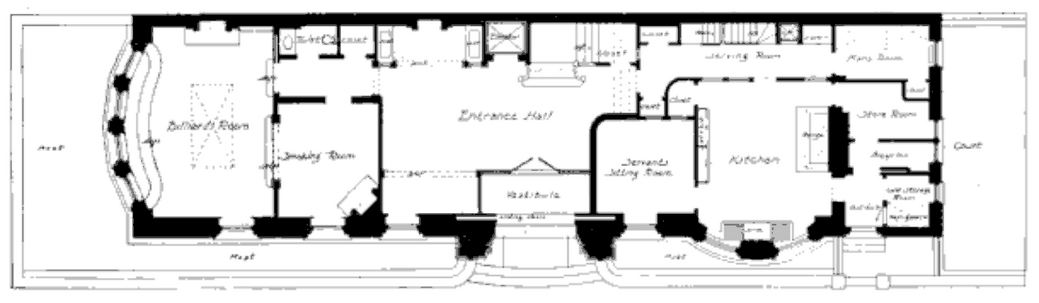 Half pudding half sauce frank winfield woolworth 39 s new for New york house plans