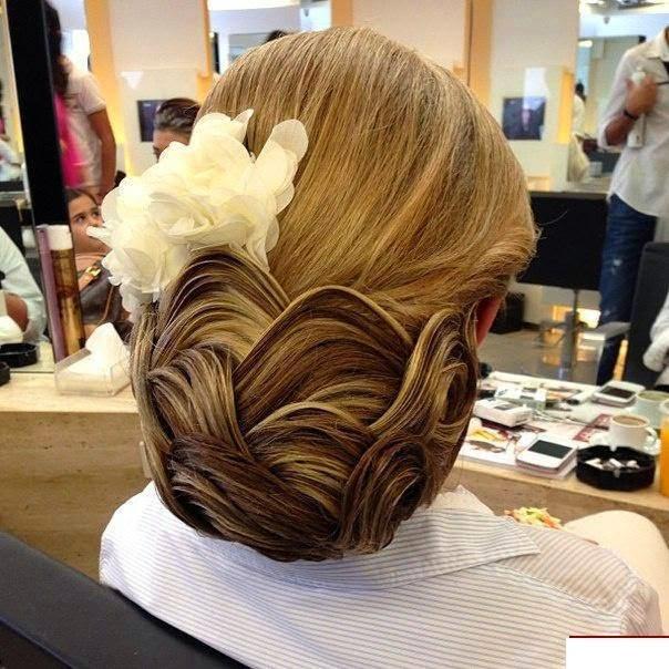Latest Bun Hair Styles Trends #1.