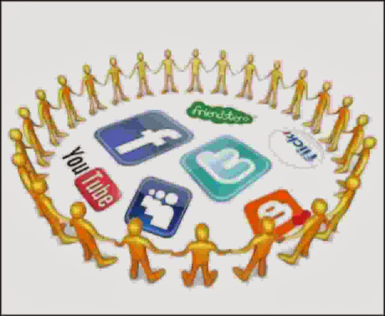 saling terhubung berkat komunitas online