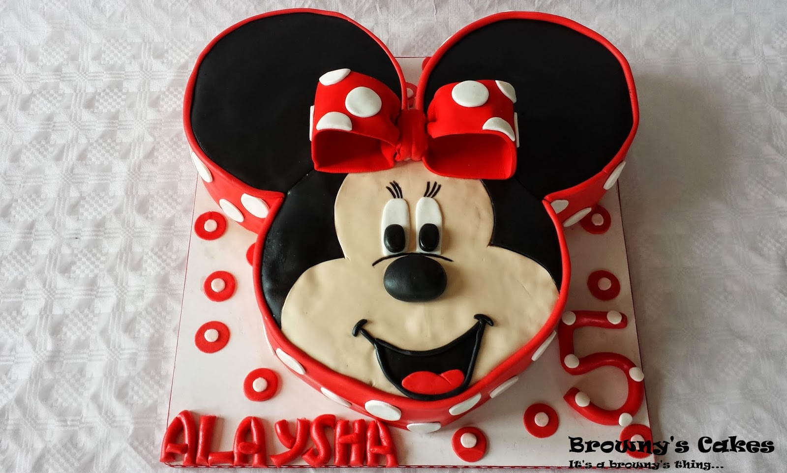 Disney Minnie Mouse Cake Browny S Cakes