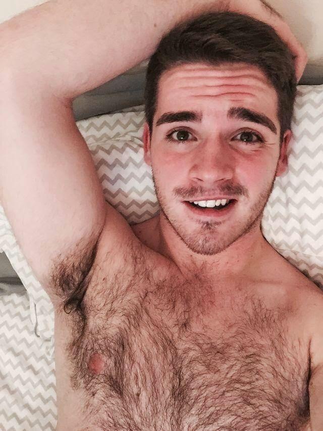 Hairy Young Man Armpits