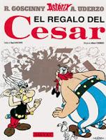 Astérix. El Regalo del César ,Albert Uderzo, René Goscinny,Salvat  tienda de comics en México distrito federal, venta de comics en México df