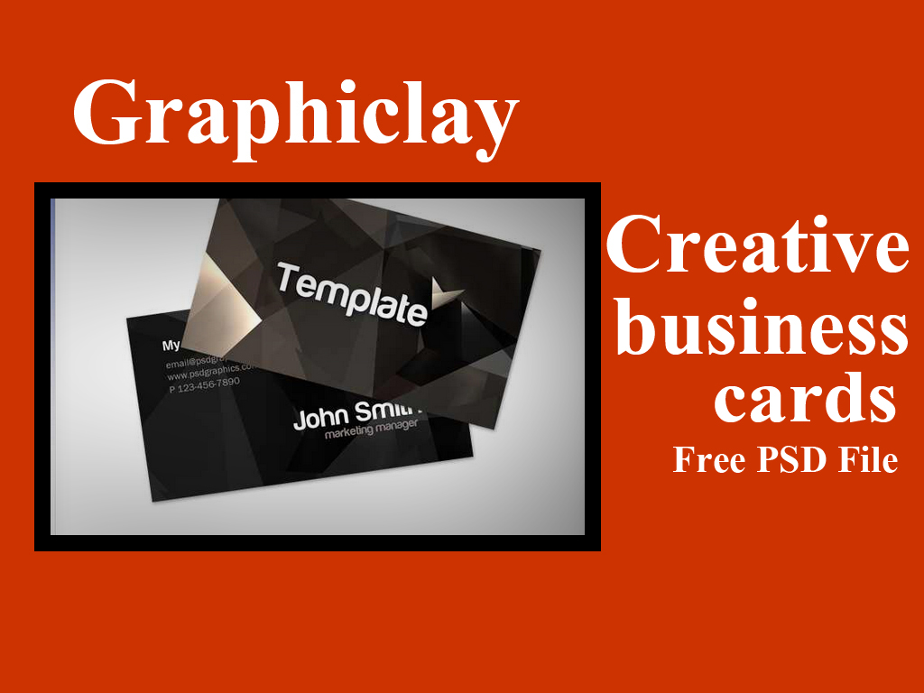 Top 10 stylish creative business cards ( PSD file ) - Graphiclay ...