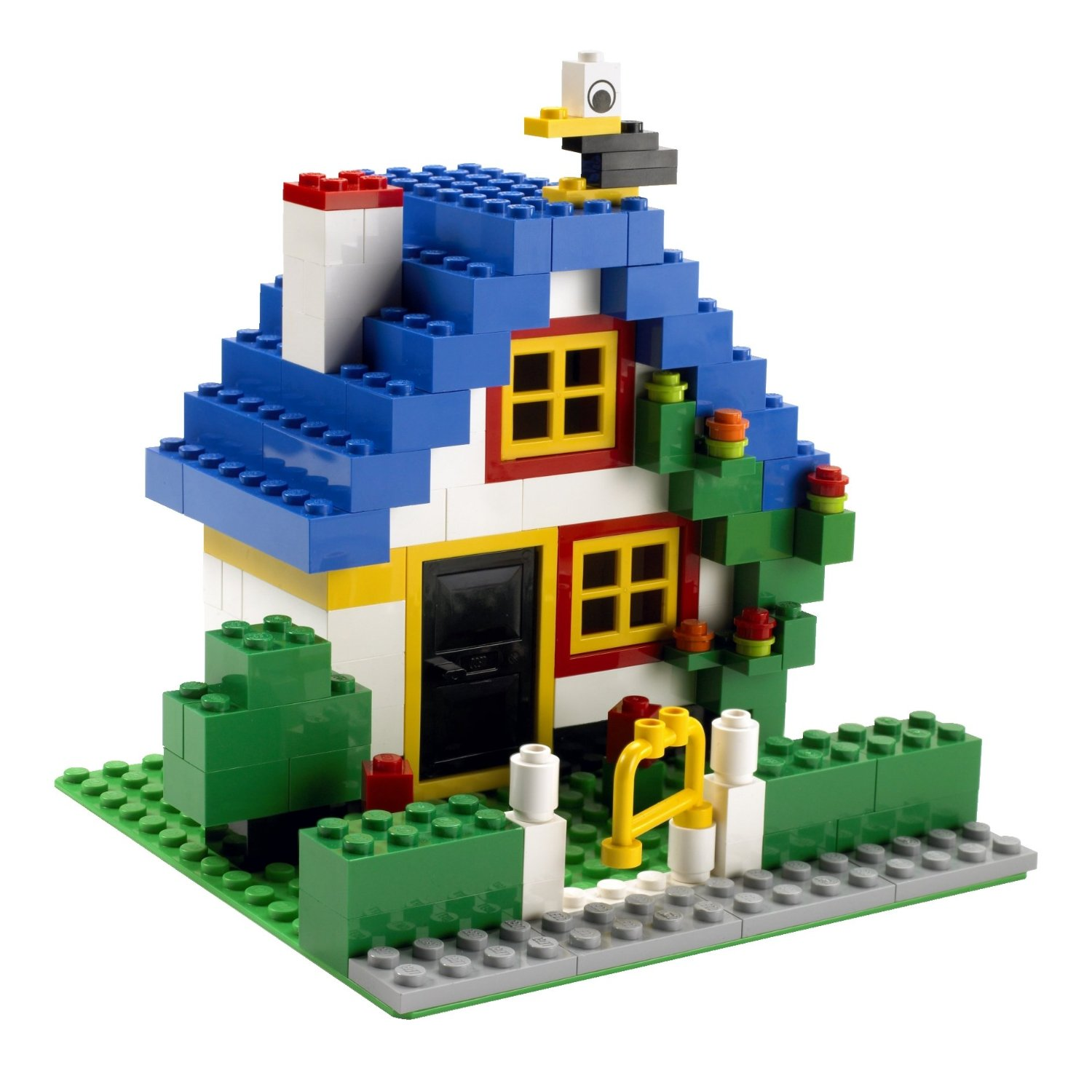 Easy Lego House Instructions They Are Mattoncini Lego A Building