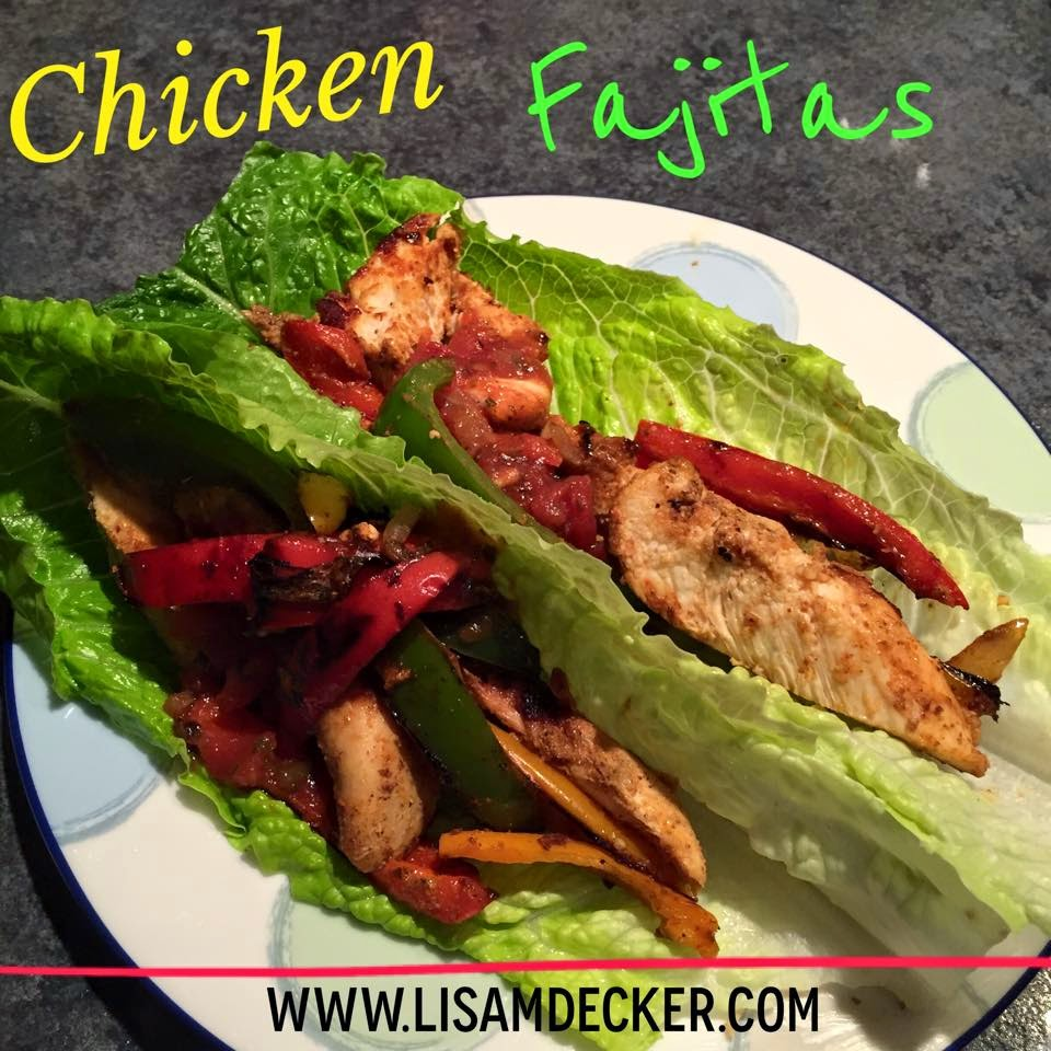 Chicken Fajitas, 21 Day Fix, 21 Day Fix Extreme, 21 Day Fix Recipes, 21 Day Fix Extreme Recipes