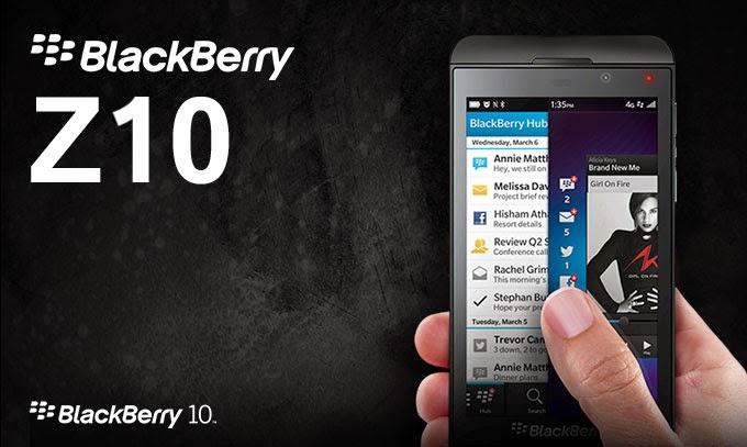 Harga HP Blackberry Z10 Agustus 2014