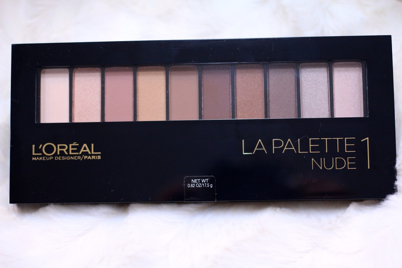 Loreal La Palette Nude 1 & 2 Review & Swatches | Serein Wu