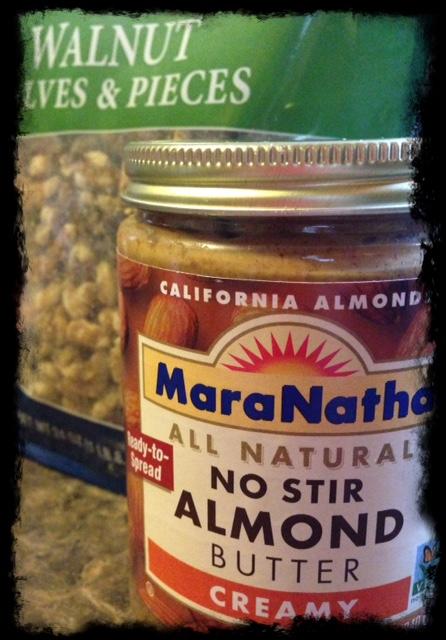 Beauty Begins with Biscotti: MaraNatha almond butter