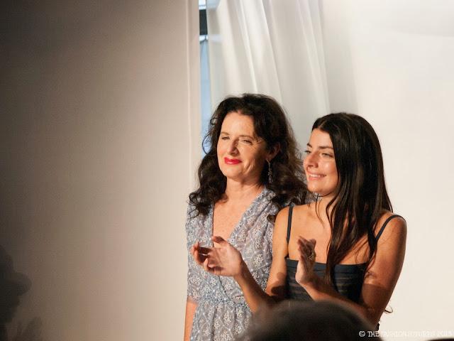 La stilista Luisa Beccaria e sua figlia Lucilla