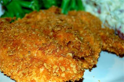 Crunchy baked sriracha chicken tenders