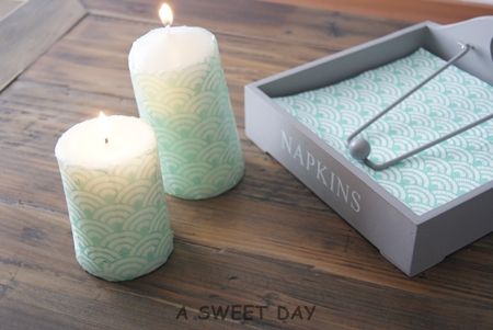 diy como hacer velas decoradas - Velas Decoradas