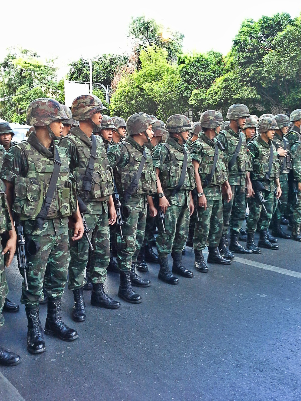 Coup in Thailand