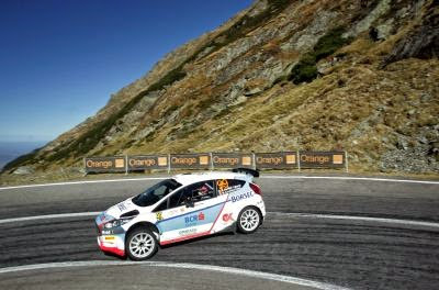 Edwin Keleti si Florin Dorca - Ford Fiesta R5  - Locul 1 - Sibiu Rally Challenge (asfalt)