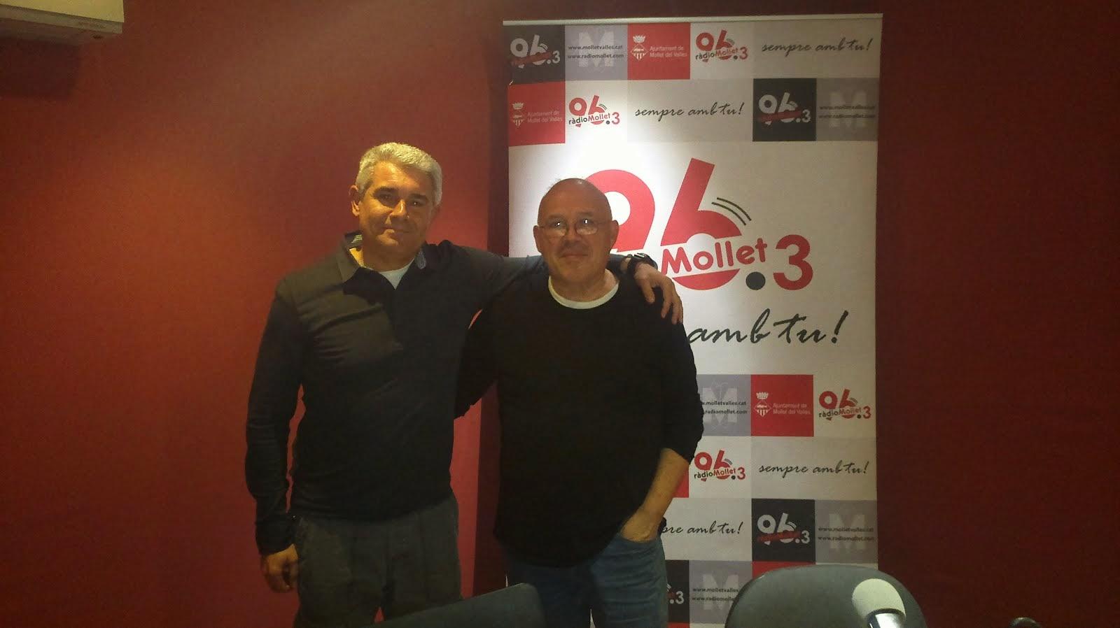 Entrevista a Ràdio Mollet