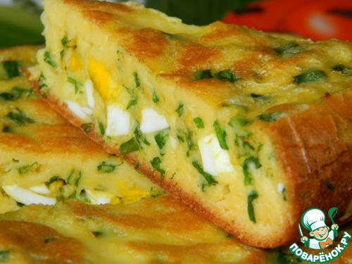 Вкусные пироги с яйцом в духовке рецепты