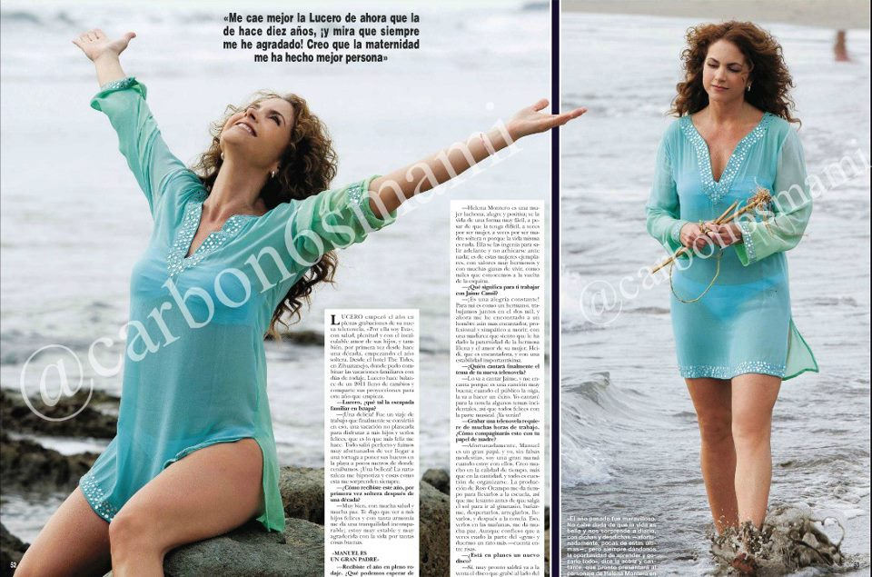 Displaying (19) Gallery Images For Revista H Lucero...