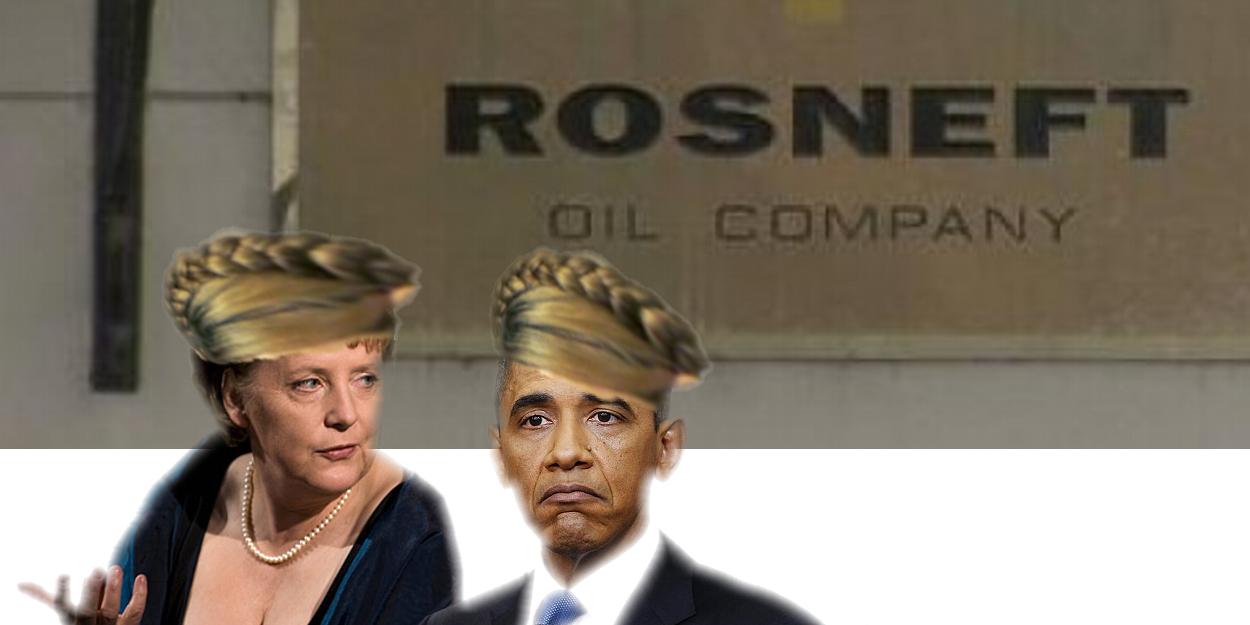 Merkel fragt Obama: Wie kommen wir jetzt an das russische Öl?