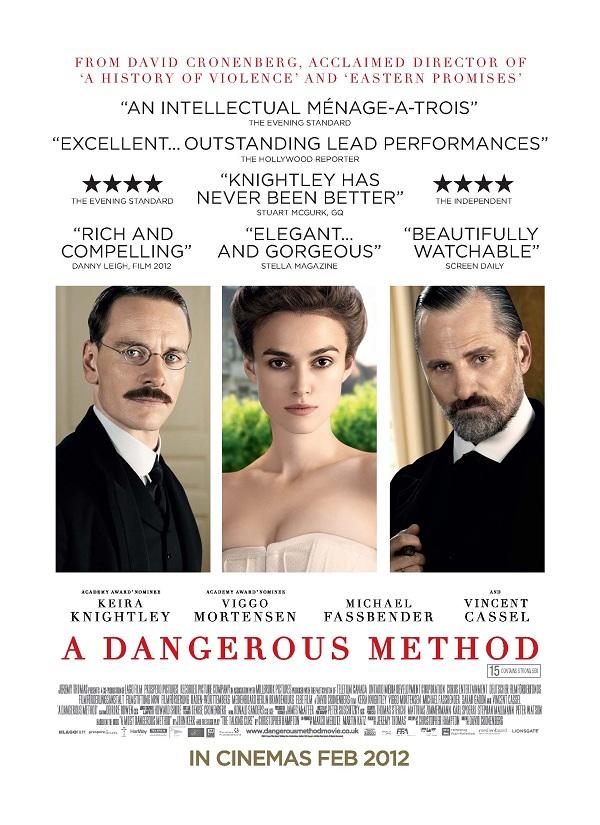 O Cinéfilo: UM MÉTODO PERIGOSO A Dangerous Method Poster