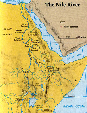 Arrangements for Traveling up the Nile  Walking Through Egypt