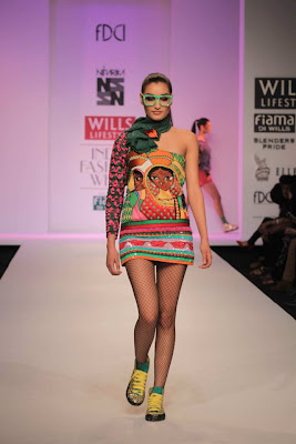 Niharika at Wills Lifestyle India Fashion Week - Autumn Winter 2012 Day 5