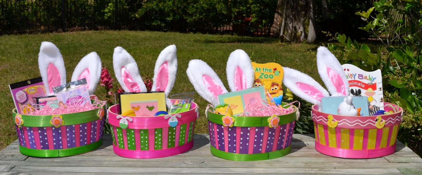 Stamp camp mollys easter egg hunt baskets mias basket turned out fun too shes got some tattoos miracle bubbles which my friend jen says are named so because its a miracle you can get one negle Images