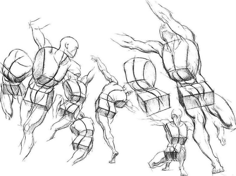 figure drawing ebooks how to draw people - 800×597