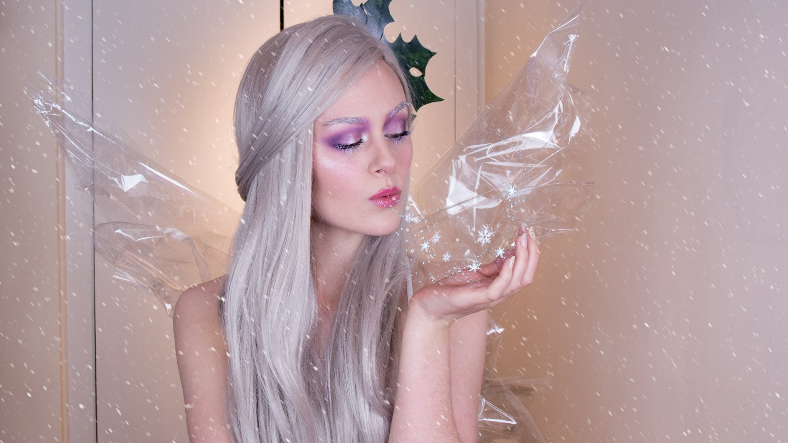 Emma pickles winter forest fairy makeup tutorial winter forest fairy makeup tutorial baditri Images