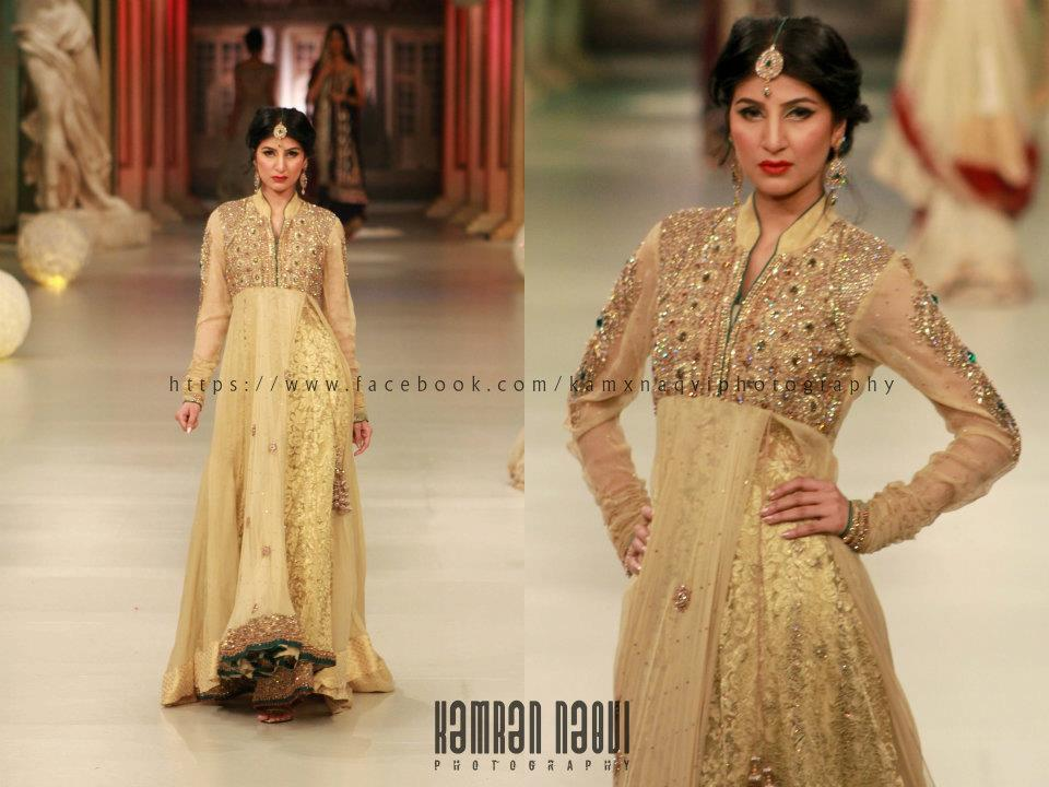 Couture bano asifa and nabeel wow at psfw and pantene for Indian wedding dresses uk