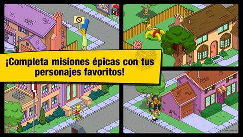 Los Simpson™: Springfield v4.15.0 Apk Mod [Compras gratis]
