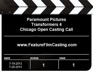 Transformers 4 Chicago Open Casting Call