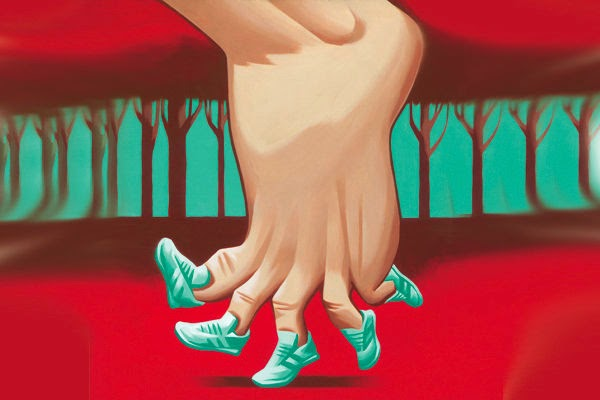 pies en forma