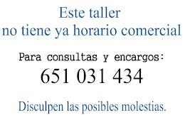 HORARIO Y TELÉFONO