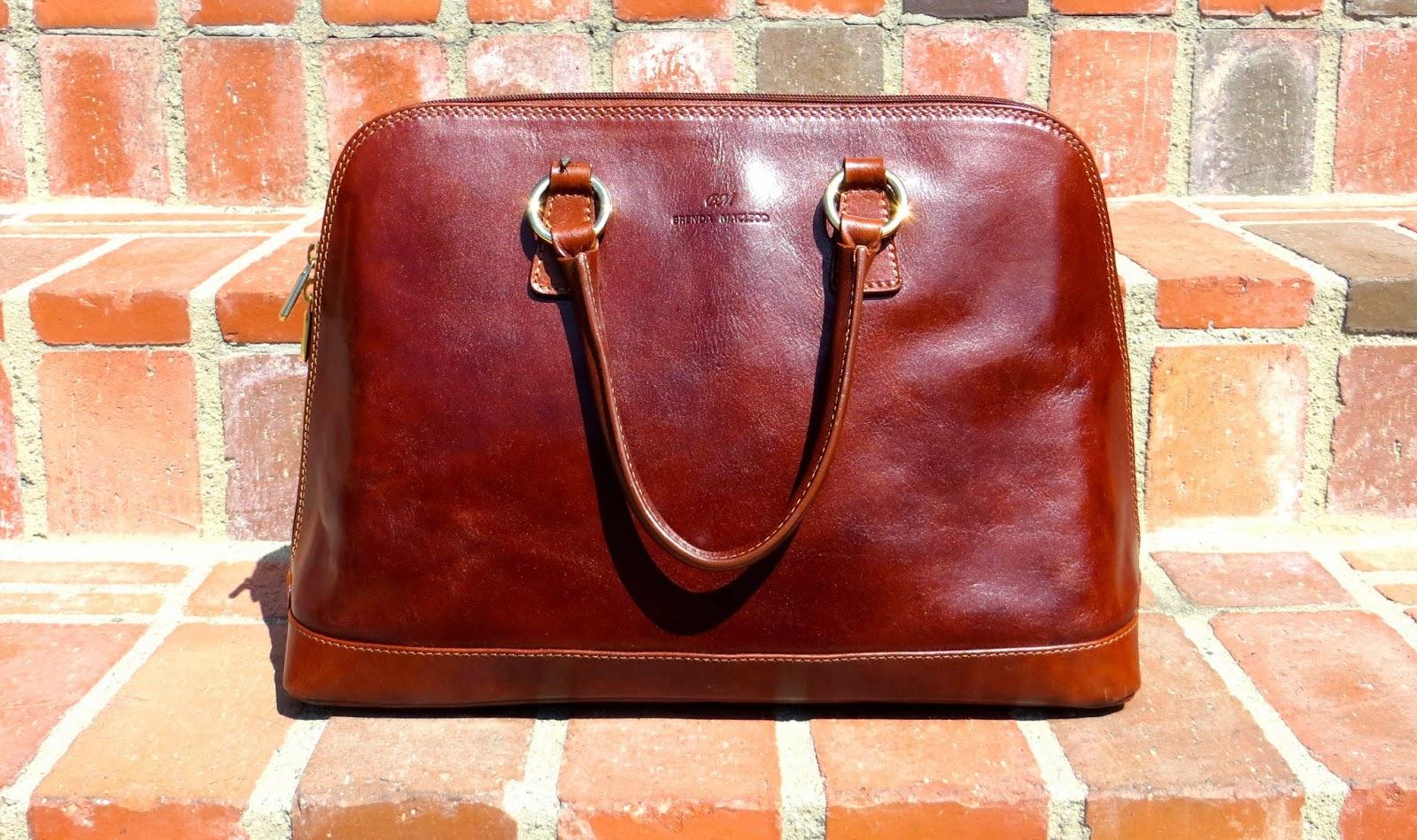 Brenda Macleod Fiona tan front view - Hello, Handbag