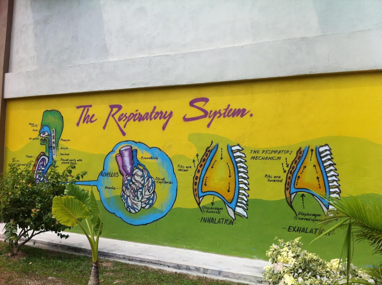 Panitia sains semashur makmal sains for Mural yang cantik