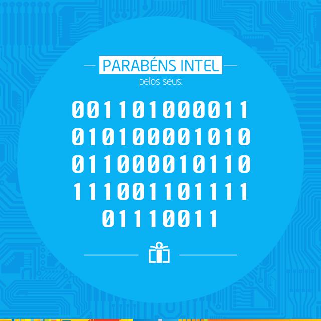 Intel 45 anos