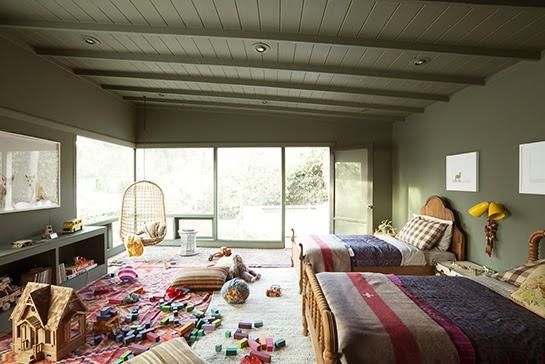 ATELIER RUE VERTE , le blog: Une chambre d\'enfant en vert kaki