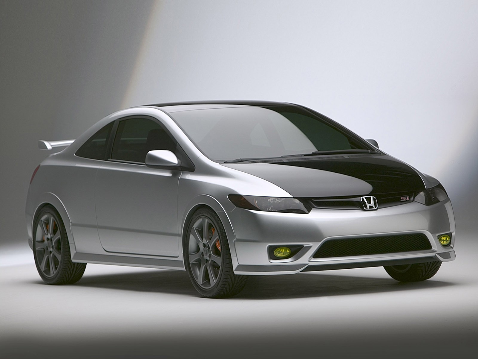 cool car wallpapers honda civic si. Black Bedroom Furniture Sets. Home Design Ideas