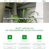 Besuchen Sie unsere Website: www.alkus.li
