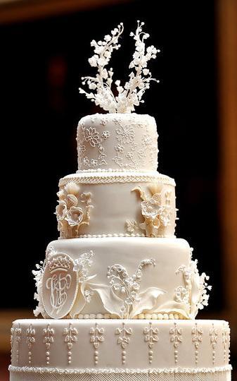 celebrity wedding cakes | Royal Wedding Cake|Kate ...