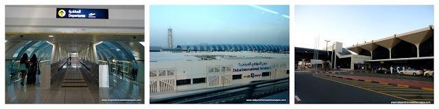 Dubai City Tour Via The Metro The Red Line Lady Amp Her