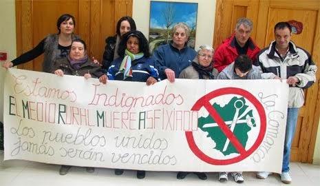 NO A LOS RECORTES SANITARIOS EN NUESTRA COMARCA