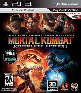 Mortal Kombat Komplete Edition EUR - PS3 ISO