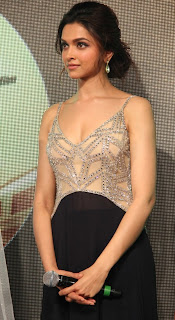 Deepika Padukone  at Chennai Express Audio 005.jpg
