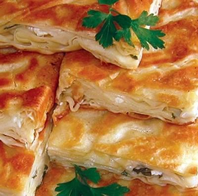 Osmanlı Usulü Peynirli Su Böreği